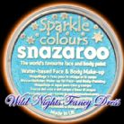 SNAZAROO PROFESSIONAL FACE PAINT SPARKLE TURQUOISE 18ML